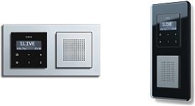 gira rds flush mounted radio gira latvia. Black Bedroom Furniture Sets. Home Design Ideas
